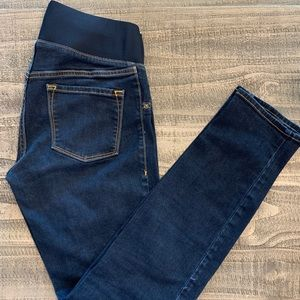 Old Navy Maternity -Low Panel Super Skinny Jeans